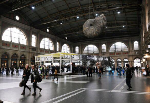 Time Ride Züricher Hauptbahnhof