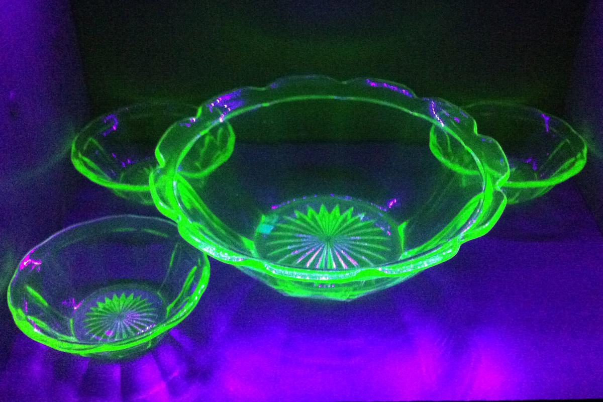 Uranglas, IV-Licht, Schwarzlicht
