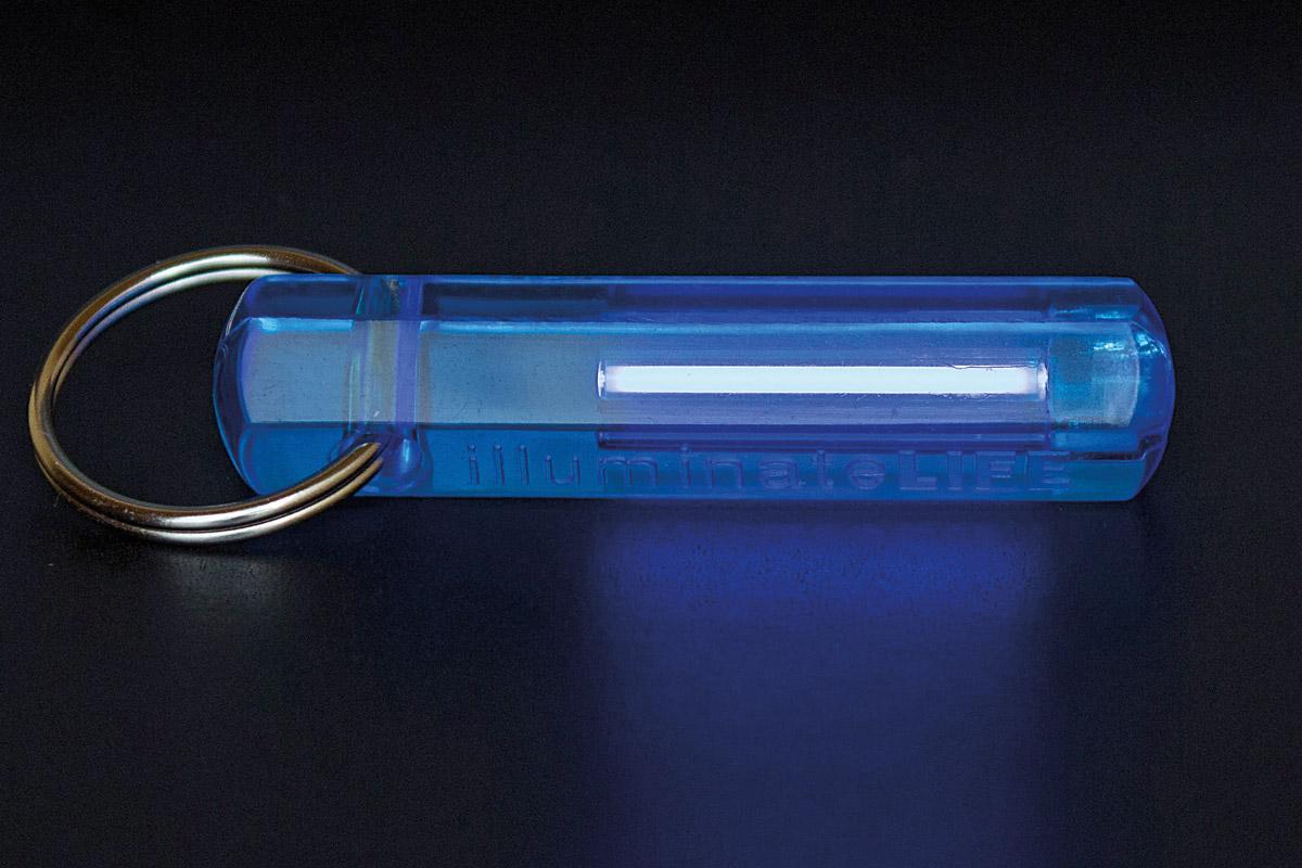 Tritiumgaslichtquelle